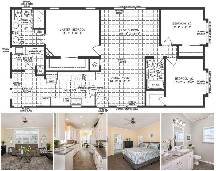 4 Bedroom Floorplans My Jacobsen Homes Of Florida