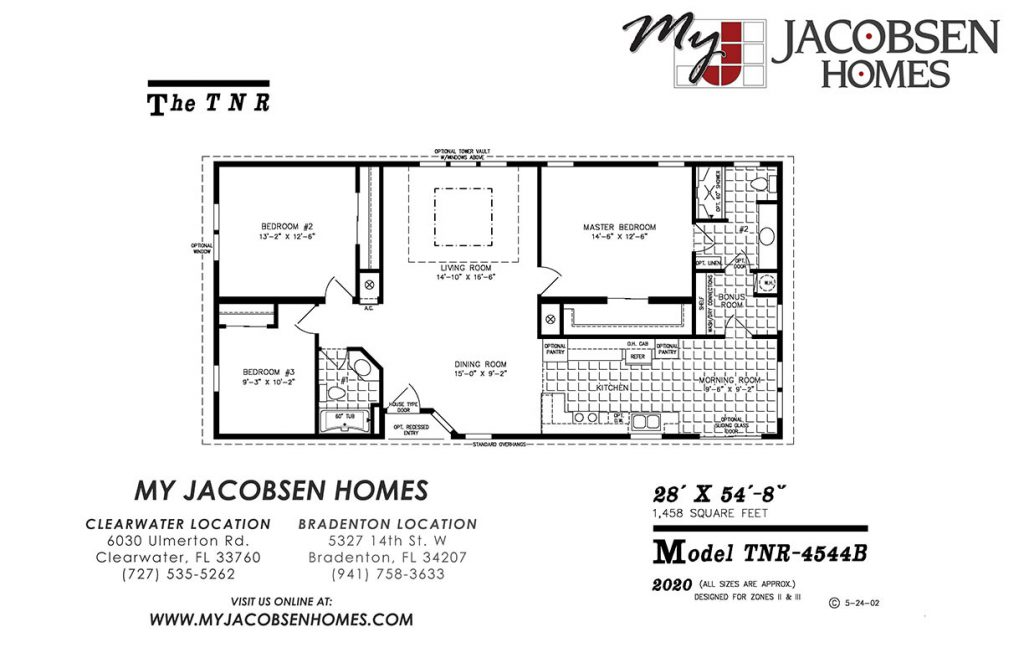 Manufactured Home Floor Plans My Jacobsen Homes Of Florida