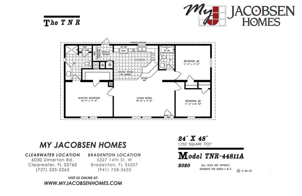 MANUFACTURED HOME FLOOR PLANS - MY JACOBSEN HOMES OF FLORIDA on 26 x 40 home plans, 30 x 30 home plans, 20 x 20 home plans,